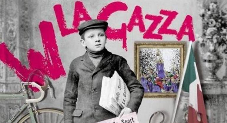 """Um anúncio celebrativo dos 125 anos da """"Gazzetta"""""""