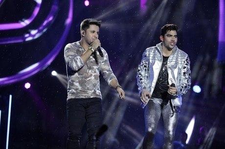 Cristiano e Gabriel gravaram música juntos em 2015