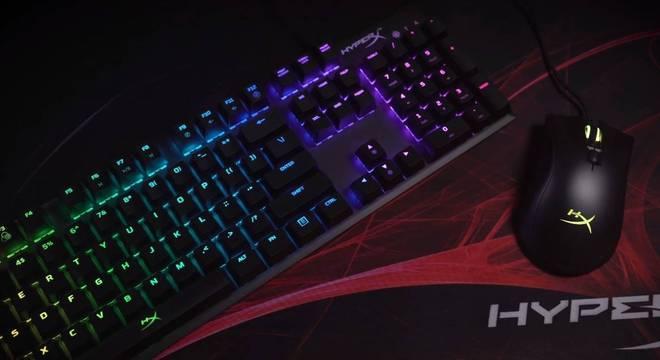 Teclado e Mouse Alloy FPS RGB
