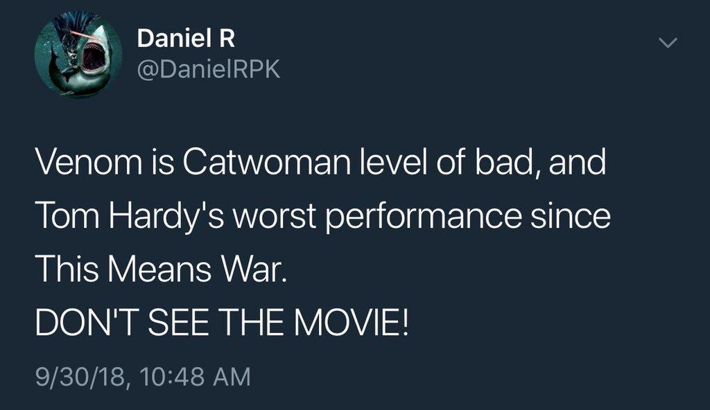 Momento em que Daniel RPK comentou sobre Venom