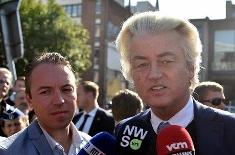 Geert Wilders tem um discurso anti-islã