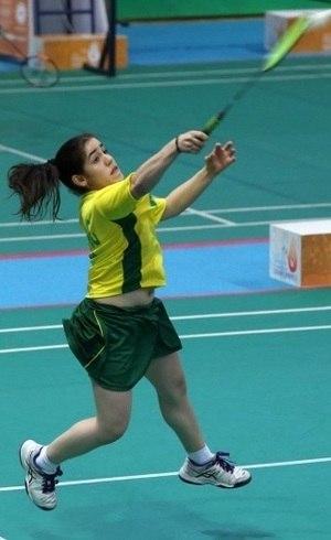 Geisa é campeão no badminton