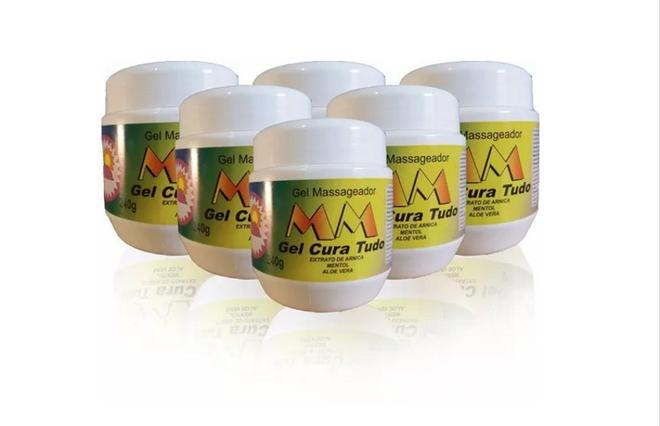 O Gel Cura Tudo 250 mg também está proibido em todo o território nacional. Oproduto é distribuído pela Natu Max. A Anvisa informou que o gelnão possui registro do órgão, além de ser fabricado por empresa com endereço e CNPJ desconhecidos