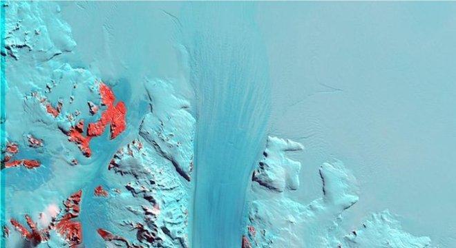 Byrd é uma gigantesca geleira na Antártida