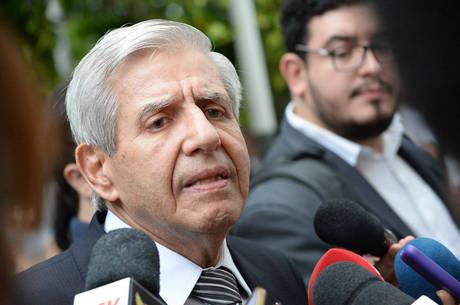 O ministro Augusto Heleno (Segurança Institucional)