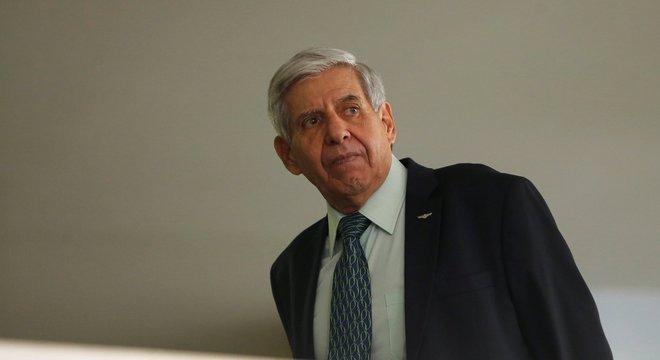 Na imagem, Augusto Heleno, ministro do GSI  (Gabinete de Segurança Institucional)