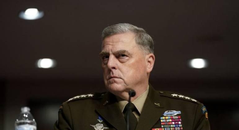 O general Mark Milley disse que o ex-presidente dos EUA Donald Trump nunca quis atacar a China