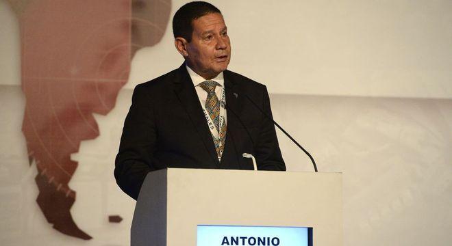 Vice-presidente Hamilton Mourão cumpre agenda nos Estados Unidos