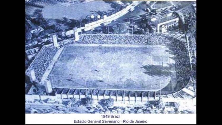 General Severiano (RJ): apenas duas partidas do Campeonato Sul-Americano de 1949 foram realizadas no estádio botafoguense. O Peru derrotou o Uruguai por 4 a 3 e a Bolívia goleou a Colômbia por 4 a 0.