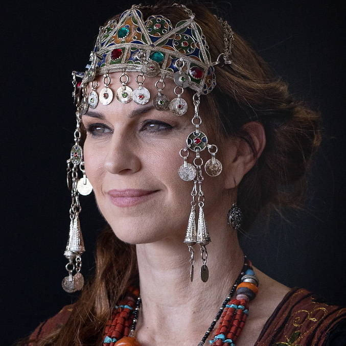 Adriana Garambone viverá Sarai, esposa de Abrão