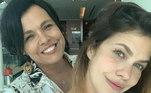Mãe e filha, Marcela Muniz e Thais Müller dividirão papel em Gênesis. As atrizes vão interpretar Maresca, uma mulher curiosa, doce e devota de Abraão, na superprodução da Record TV.