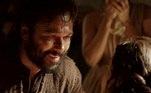 No capítulo de Gênesis desta terça-feira (16), Terá (Angelo Paes Leme) é recebido em Ur como herói