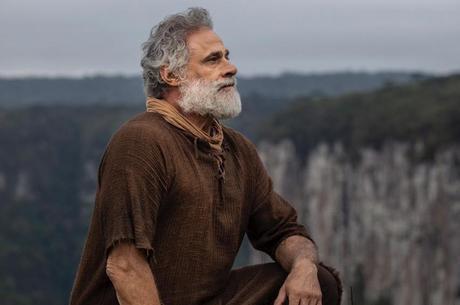 Oscar Magrini caracterizado de Noé