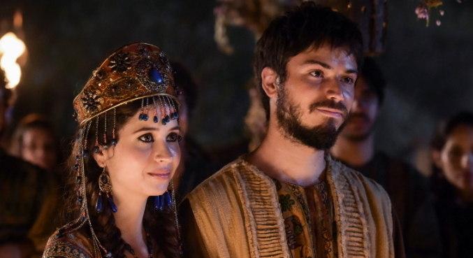 Mila e Alom encantaram o público em Gênesis