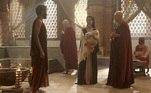Terá pede para Kissare (Norival Rizzo) aceitar seu filho Abrão na escola de escribas