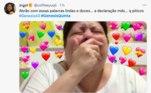 Mas a comemoração de Terá durou pouco: Abrão fez uma declaração de amor para Sarai que comoveu todo mundo do outro lado da tela