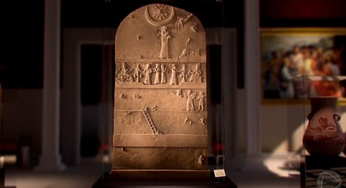 O propósito da Estela talvez tenha sido o de comemorar a construção do complexo do Templo de Nanna e do seu zigurate