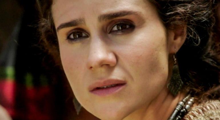 Atriz se despede da personagem Amat na novela Gênesis
