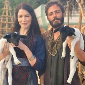 Rhaisa ressaltou parceria com ator