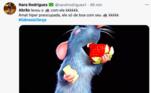 Na sala dos demônios, Abrão encontrou um rato e fez