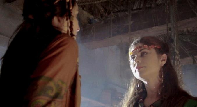 Danina pede ajuda à Nidana para tirar filho que espera de Terá