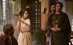 No capítulo deGênesisdesta sexta-feira (26),Sharur(Paulo Goulart Filho) diz a Terá(Angelo Paes Leme) que Danina (Laura Kuczynski)está grávida; veja todos os destaques!