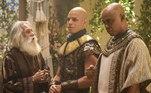 Terá oficializa a união entre Ló e Ayla.Os homens de Yafeu colocam fogo na casa de Terá