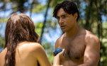 O ator Carlo Porto destacou uma das mensagens que o personagem Adão carrega: