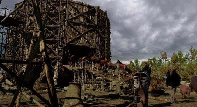 As cenas contaram com apoio de efeitos especiais
