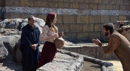 Eliézer encontrou Rebeca em Harã