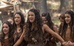 """Diferente do pacífico Abel, Renah, a primeira filha de Adão e Eva, protagonizou embates com o pai e o irmão mais velho, Caim:""""Ela é forte, determinada e guerreira, além de ter sido a primeira mulher a perceber que não era justo como os homens se divertiam, enquanto as mulheres ralavam o dia inteiro. Com toda certeza, a Renah veio para quebrar paradigmas"""", opinou Ana Terra, que deu vida à personagem"""