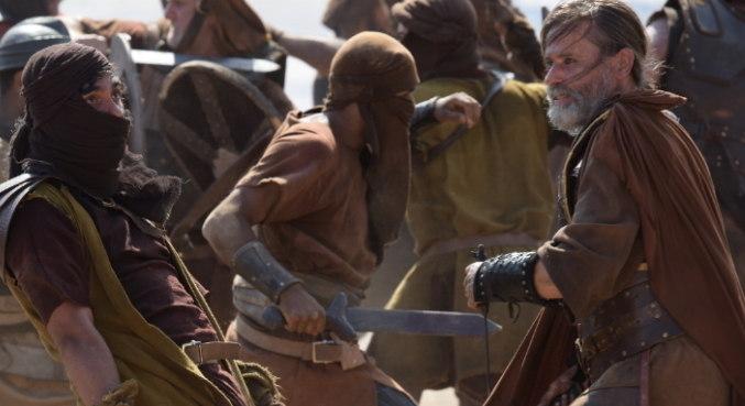 Na batalha do Vale do Sidim, quatro reis do Norte se rebelaram contra outros cinco reis