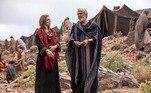 Durante a fase de Abraão, que estreia na próxima segunda-feira (29), os tons continuarão os mesmos nos cenários e no figurino