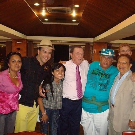 'No ano de 2008, programa Raul Gil, no quadro Pra Quem Você Tira o Chapéu?'
