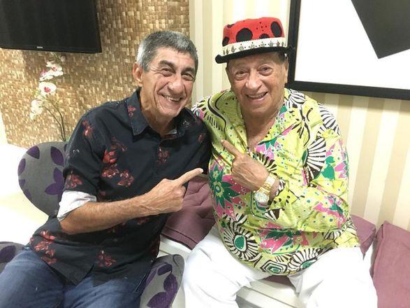 'Grande prazer em relembrar esse momento com o amigo Raimundo Fagner onde gravamos junto uma canção em homenagem ao Rei do Baião Luiz Gonzaga'