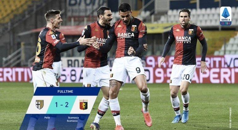 A alegria da Roma, em Parma