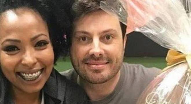 Danilo e Juliana em postagem polêmica na Páscoa