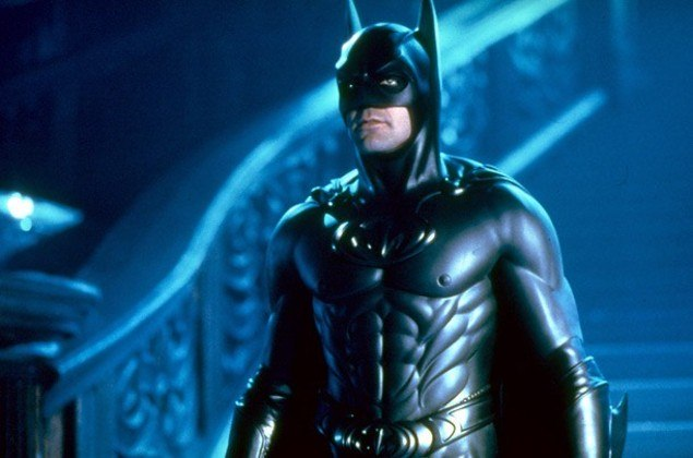George Clooney, Batman e Robin (1997): assim como Val Kilmer, o galã de Hollywood se arrependeu do papel e, em entrevista a Howard Stern, disse que