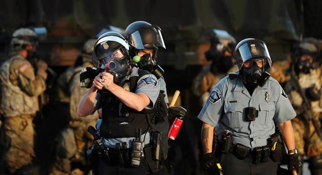 Anistia destaca violência policial durante protestos nos EUA