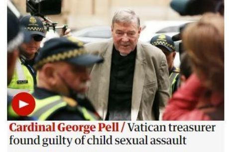 The Guardian repercutiu condenação de Pell
