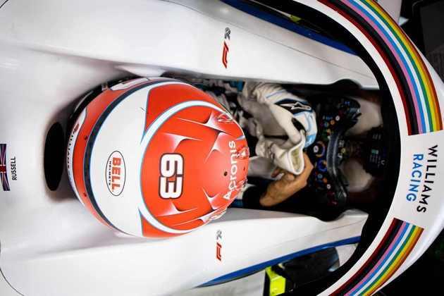 George Russell estreou na Fórmula 1 no ano passado