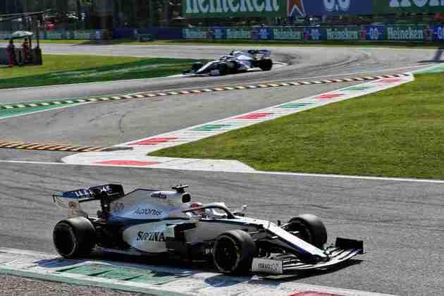 George Russell terminou o GP da Itália apenas na 14ª posição