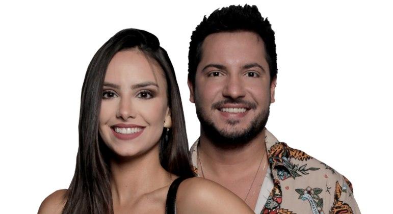 Geórgia e Thiago são o décimo casal eliminado do Power Couple