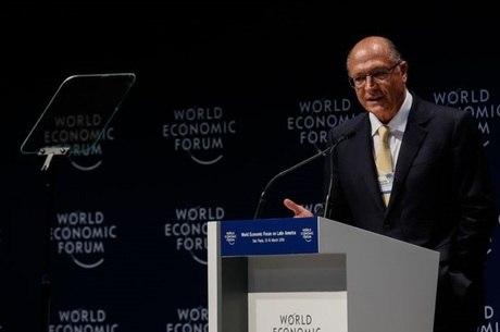 Alckmin é o pré-candidato do PSDB