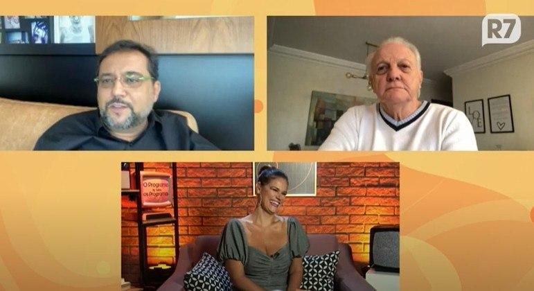 Geraldo Luís em entrevista a Flavio Ricco e Dani Bavoso