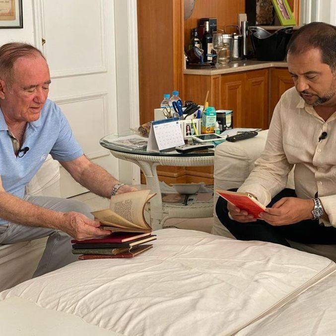 Renato Aragão será o primeiro entrevistado de Geraldo Luis
