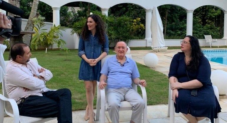 Em entrevista a Geraldo Luis, Renato Aragão relembra grandes momentos da sua carreira