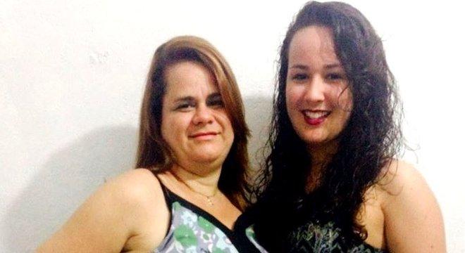 Germaine e Kamilly foram internadas juntas com covid-19; enquanto mãe, que é hipertensa, se recuperou, a filha apresentou quadro grave da doença e morreu