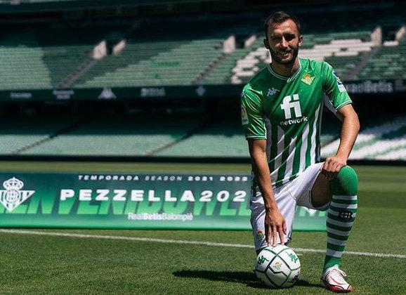 Germán Pezzella - 30 anos - Real Betis - Zagueiro: saiu da Fiorentina e retornou ao Betis nesta temporada, clube que atuou entre 2015 e 2018. (Sua convocação pode ser afetada)