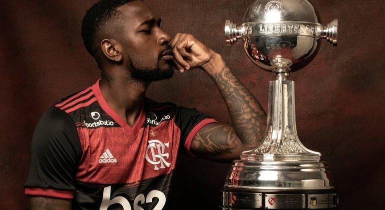 Gerson dará excelente lucro ao Flamengo. Em campo, foi fundamental em oito títulos...